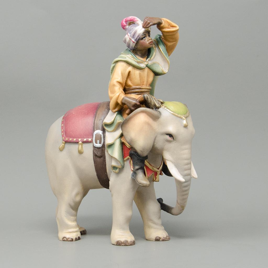 Elefant mit Diener