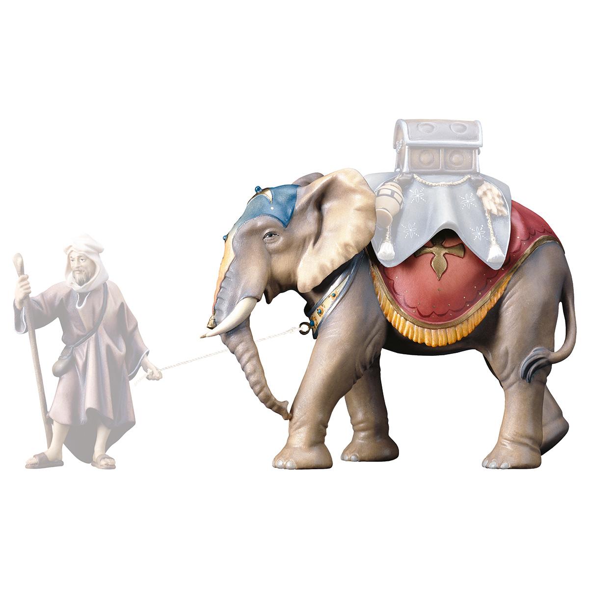Elefant stehend (ohne Sattel und Treiber)