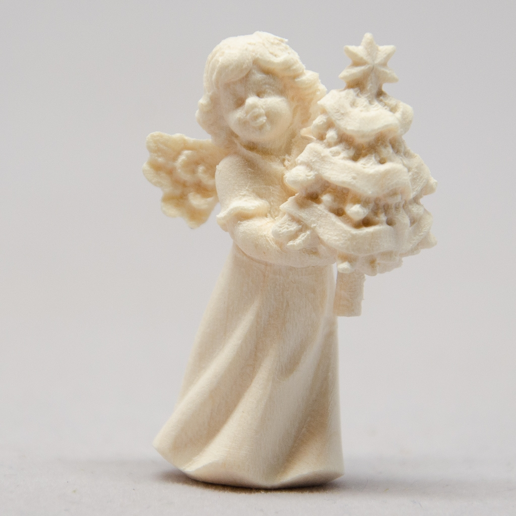 Engel mit Christbaum