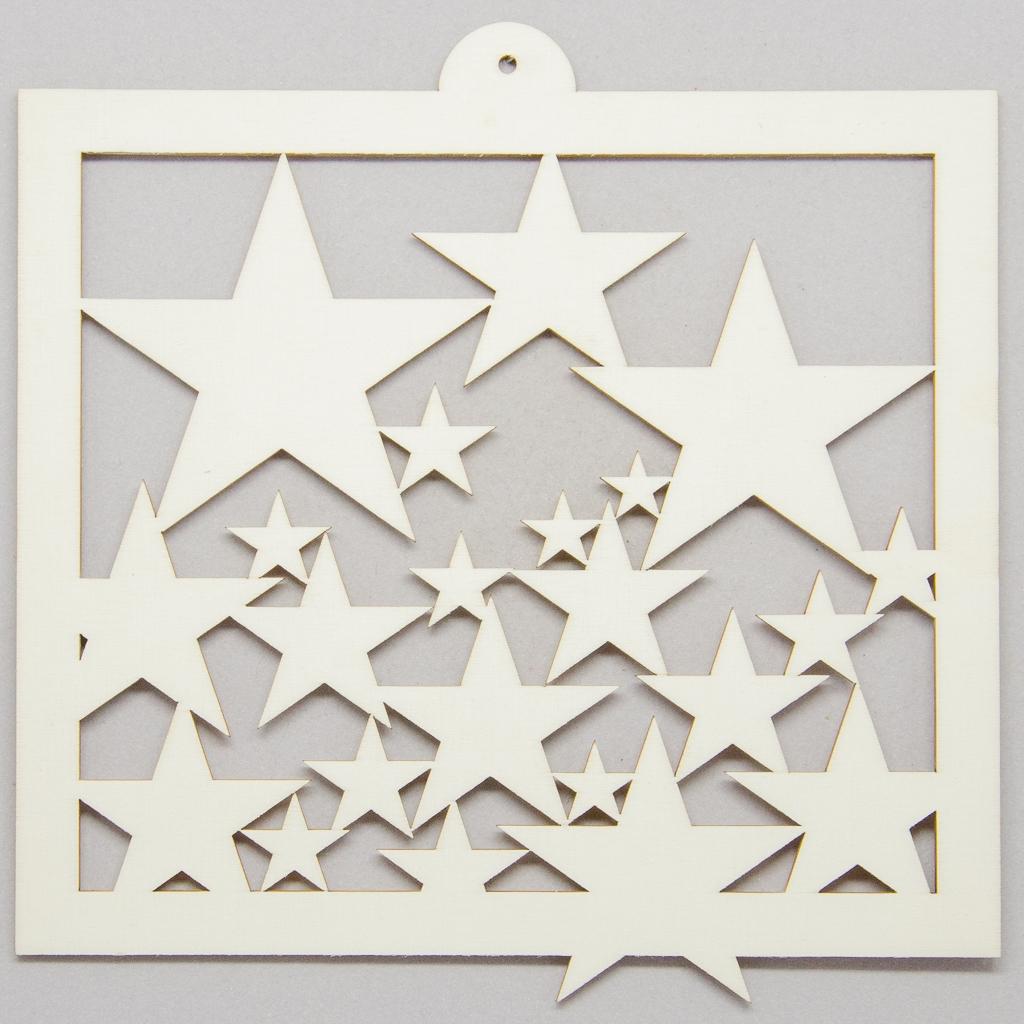 Sterne in Rahmen