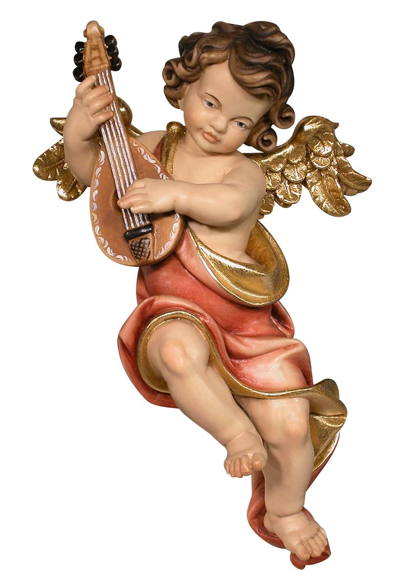 Wandengel mit Mandoline