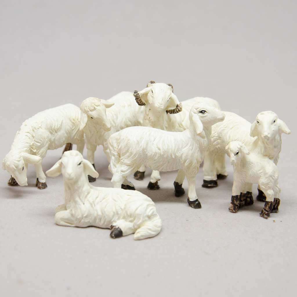 Schafe Set 6-teilig