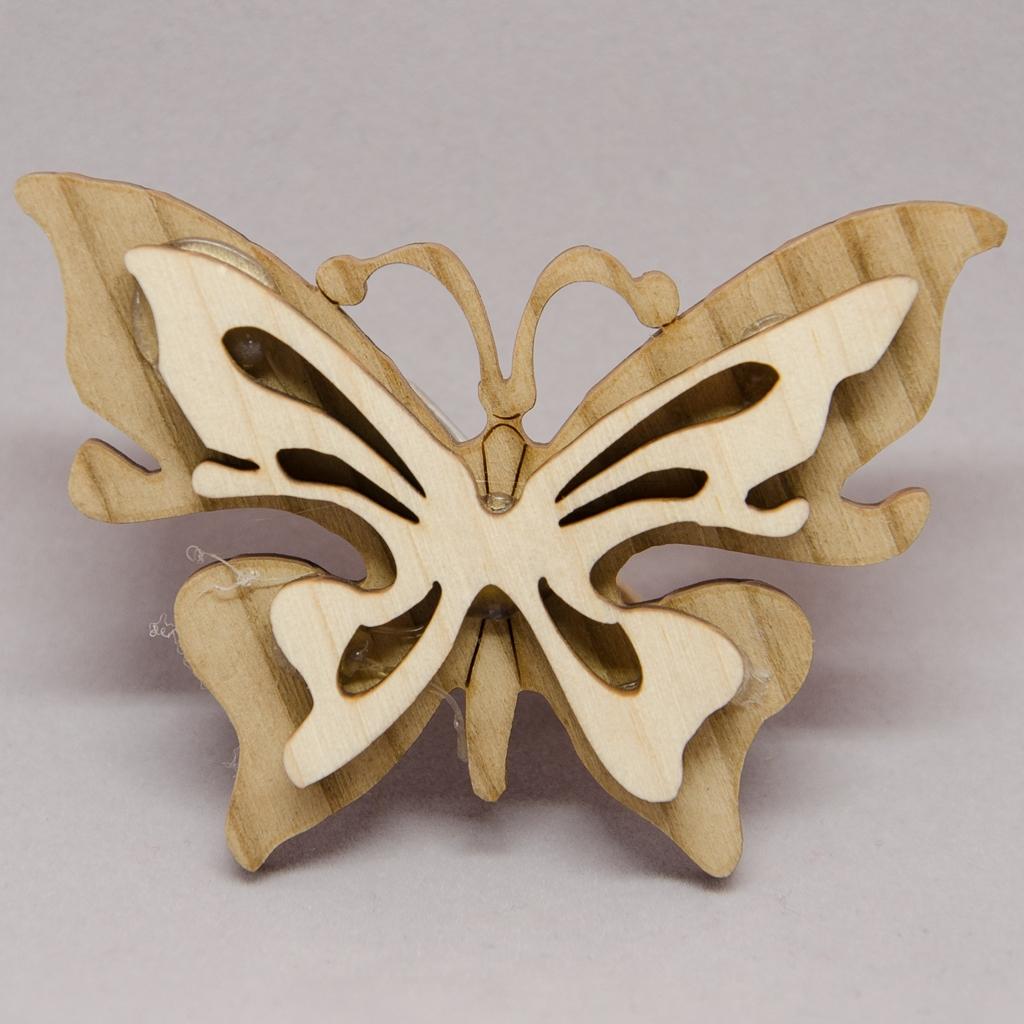 Schmetterling mit Klammer