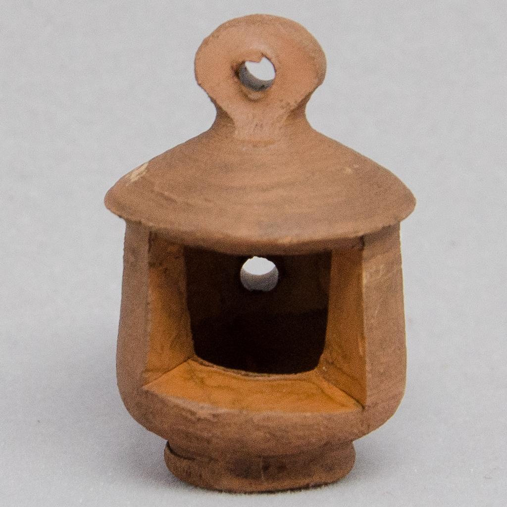 Keramik Laterne antikisiert